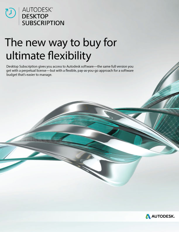 Autodesk Desktop Subscription | Flyer - pg1