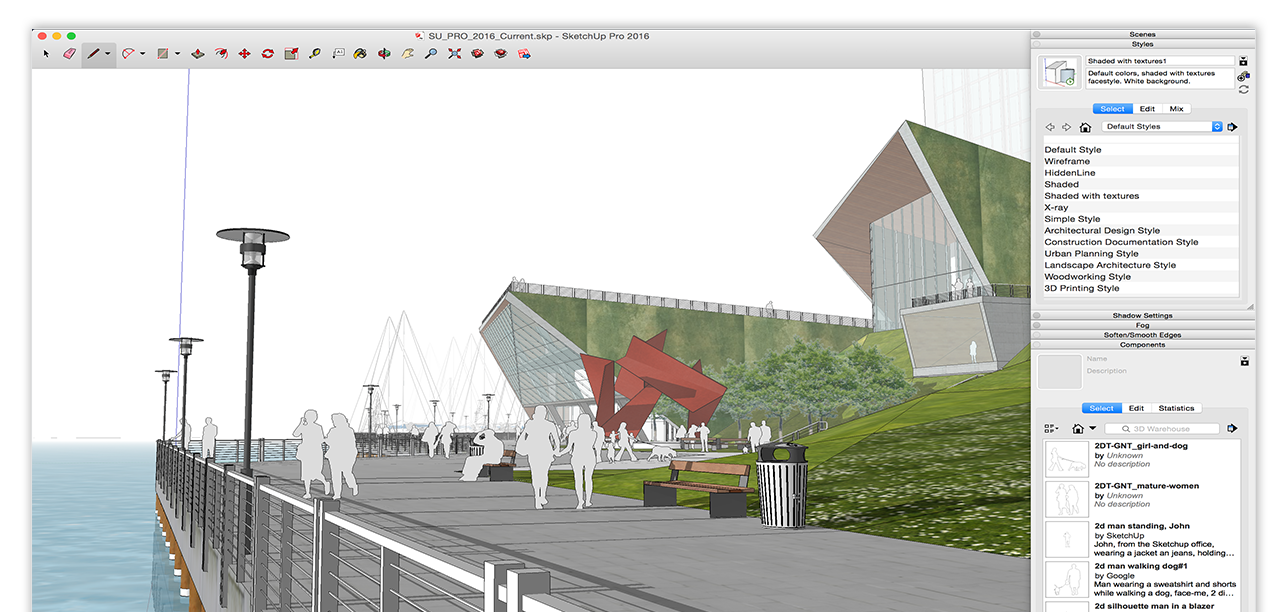 Sketchup pro reseller malaysia for 3d drawing online no download