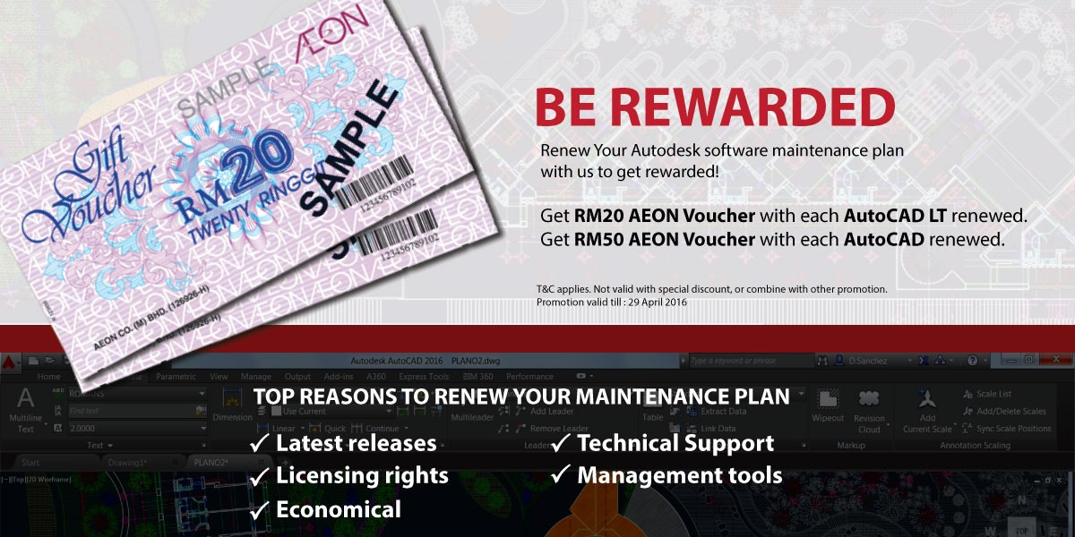 Maintenance Plan Promotion