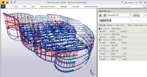 tekla_Object_browser_whole_screen